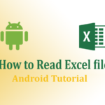 how to read excel file in android from asset folder