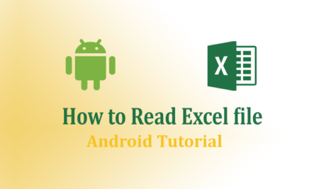 How to Read Excel File in Android Tutorial- using Apache POI lib, Asset Folder