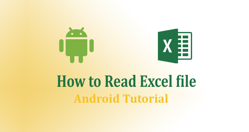 how to read excel file in android programmatically ? using Apache