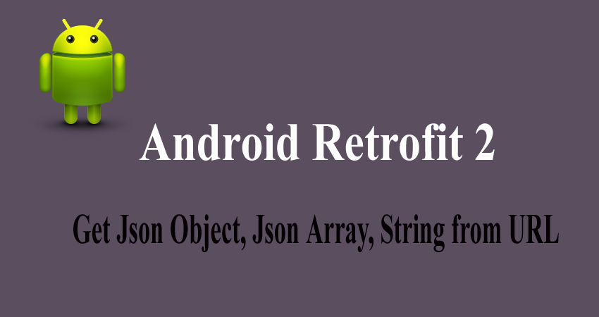 Retrofit android tutorial with Example, Retrofit video