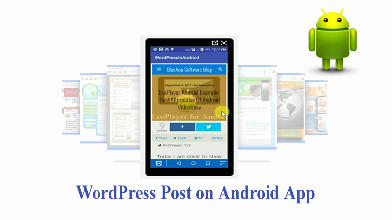 Convert WordPress into Mobile App - Android tutorial with