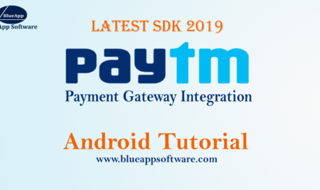 Paytm Integration in Android Studio Latest SDK version 2019