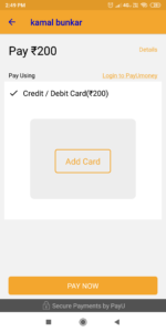 payumoney integration in android